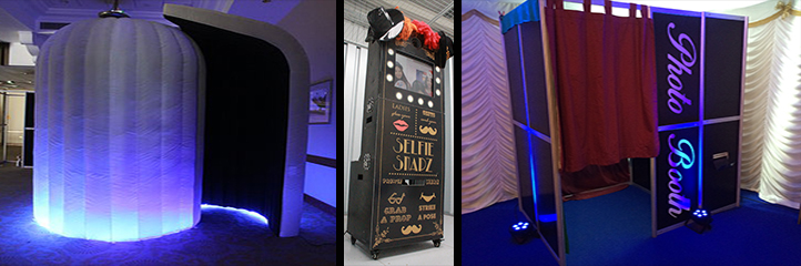 Our Range of Photo Booths for Hire